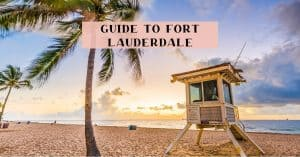 Guide to visiting Fort Lauderdale