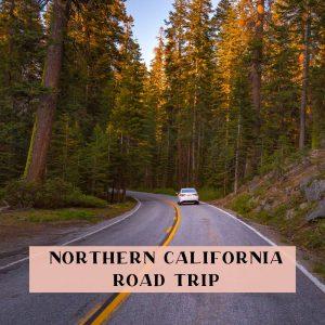 northern California drive itinerary