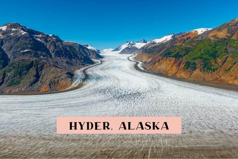 One Day in Hyder Alaska