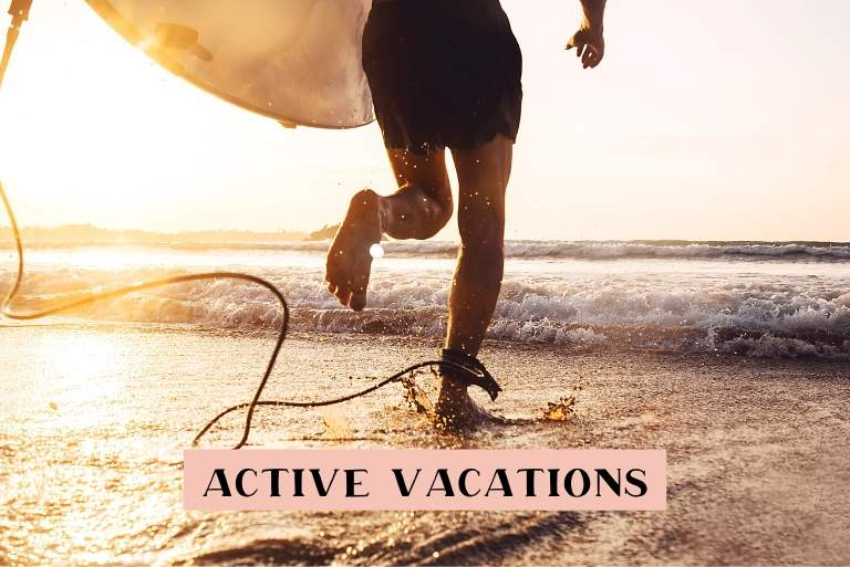 Active vacations ideas