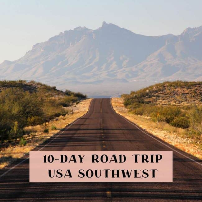 Southwest USA road trip