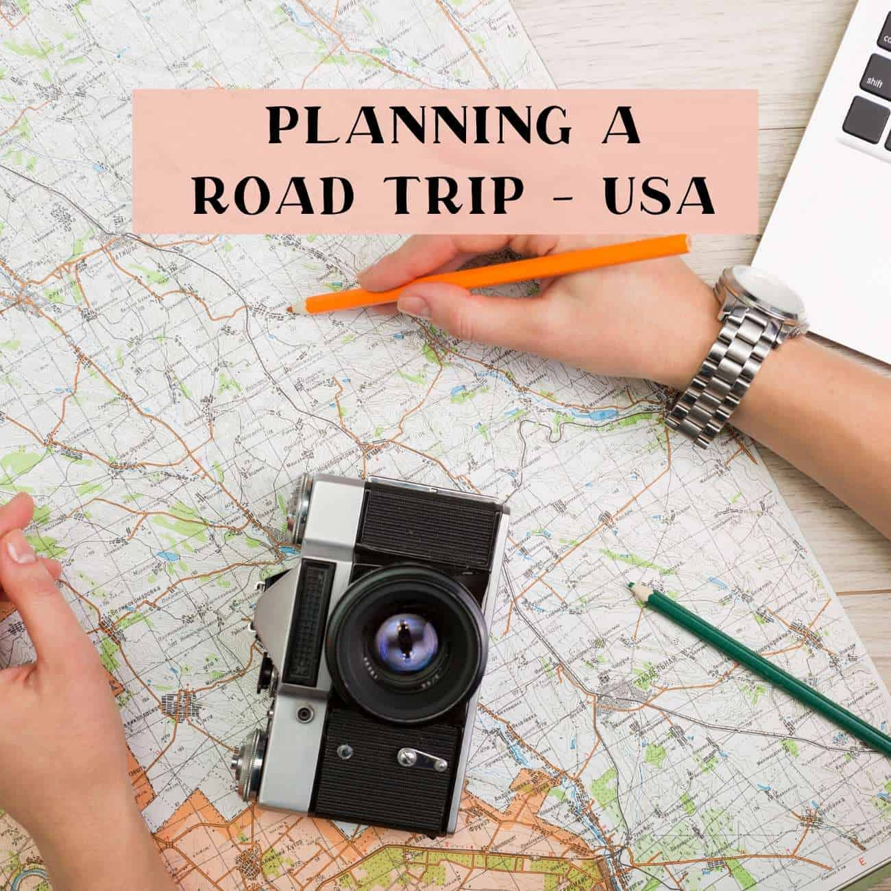 Plan a USA road trip