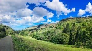 Glenariff Nature Reserve waterfall walk