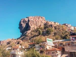 Giant head sculpture Izmir