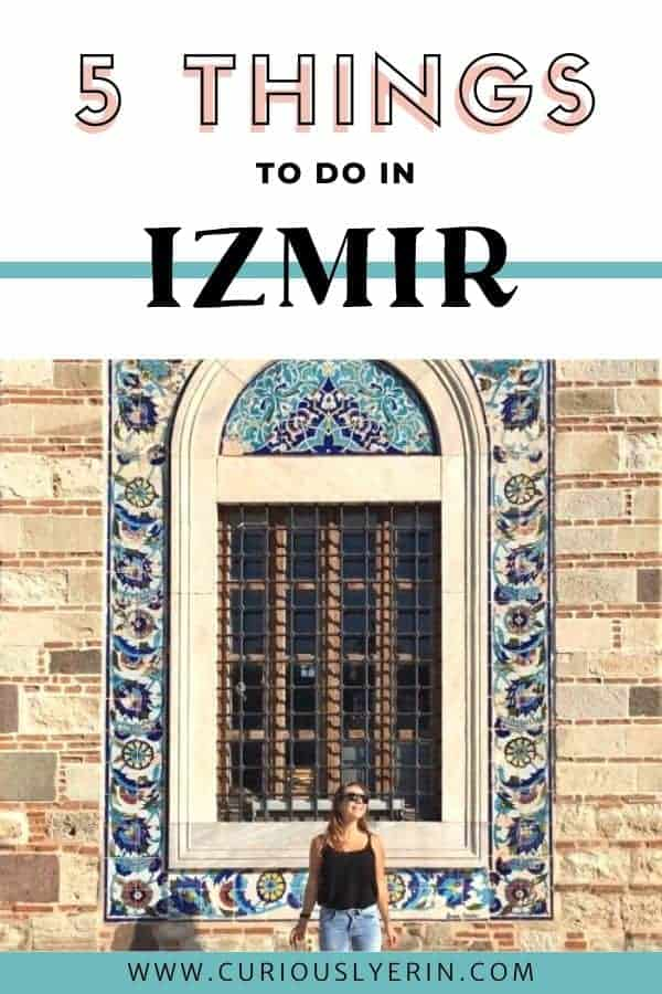 Click to find out the best things to do in Izmir, Turkey on a budget. These top 5 things should be added to your Turkey itinerary today #izmirturkeytravel #izmir #budgettips