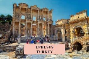 Guide to visiting Ephesus, Turkey