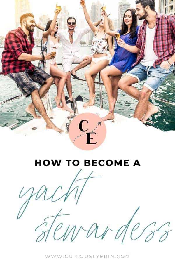 Find out how to become a yacht stewardess and make friends of a lifetime in this exciting industry. Follow these 10 detailed steps and you will be living life as a crew member this year #yachtie #yachtielife #yachtiecv #traveljobs #traveljobsforwomen