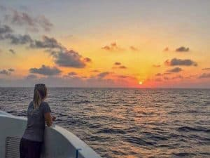 sunsets in the Mediterranean