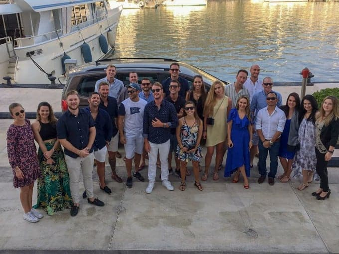 superyacht crew family