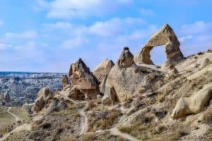 Fairy Chimney rock formations Cappadocia