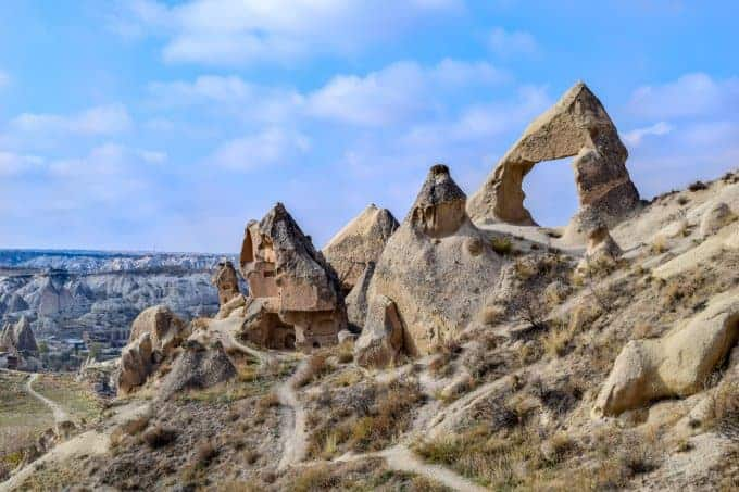Fairy Chimney rock formations Cappadocia