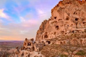 Uschisar rock Castle