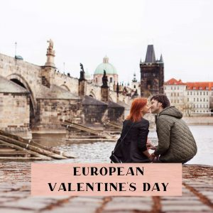 European valentine's couple