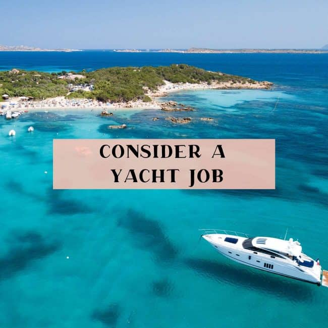 10 reasons to consider a yacht job