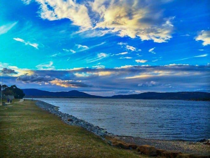 Lake Jindabyne in Australia