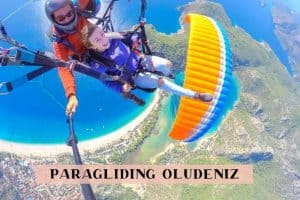 Paragliding in Oludeniz Turkey