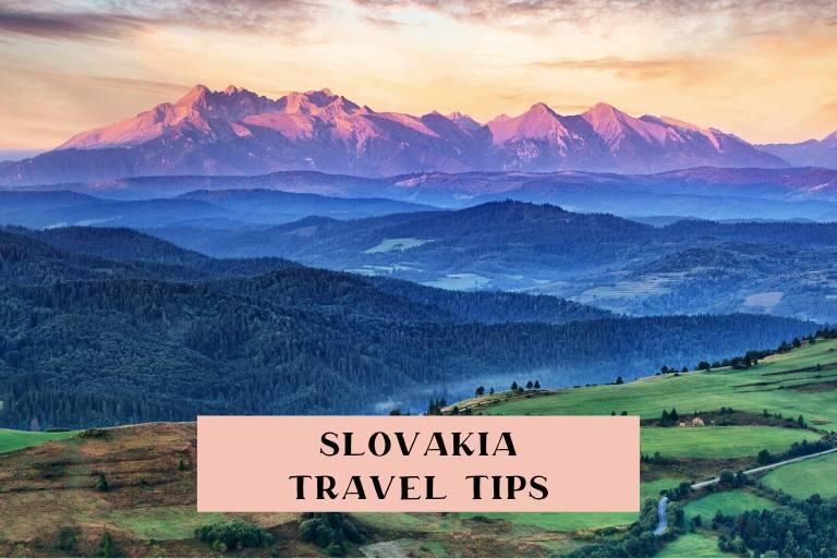 Travel advice for visiting Slovakia
