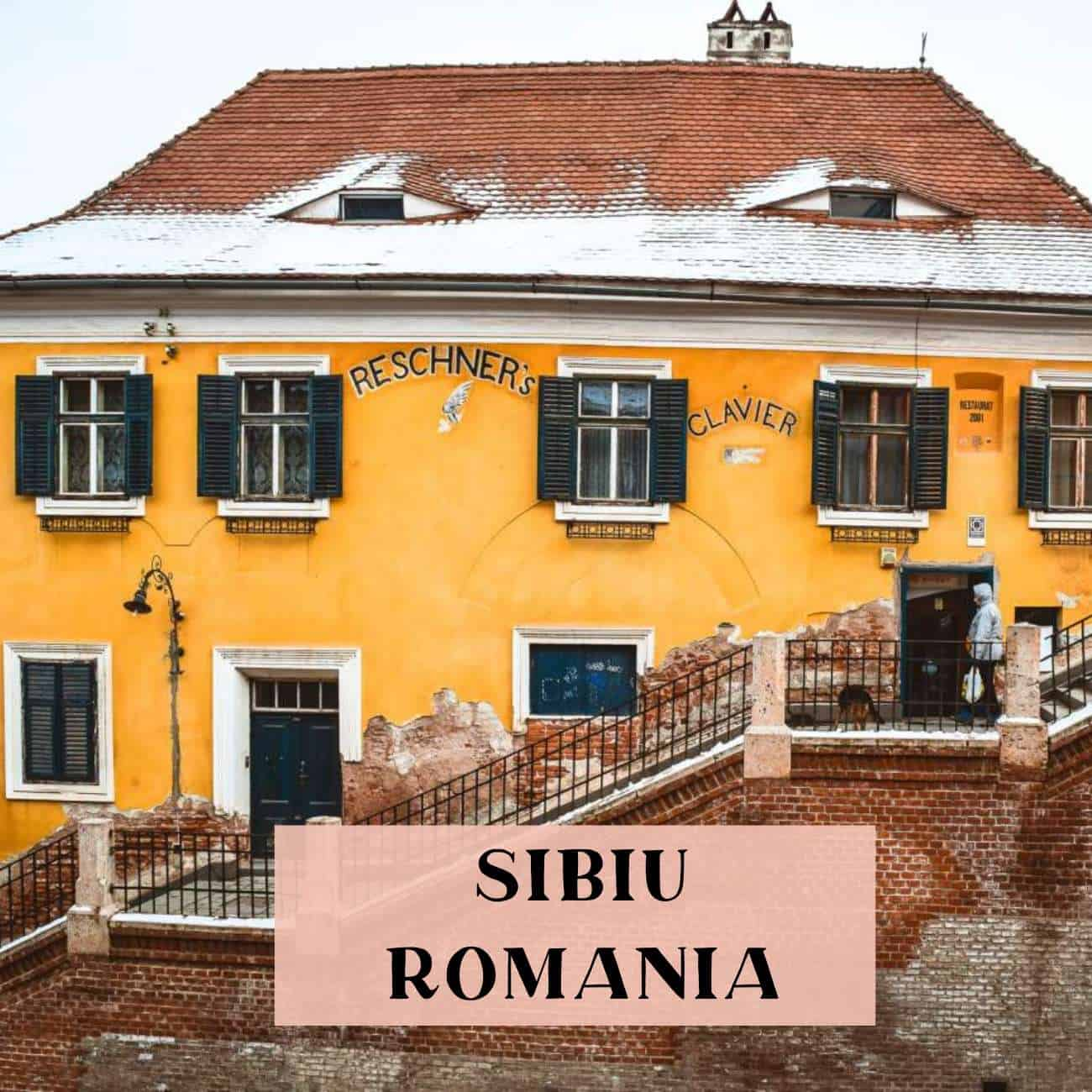 Sibiu Romania 3-day itinerary