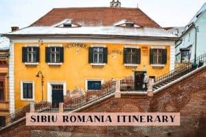 Sibiu Romania 3-day itinerary