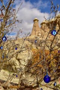 Turkish Eye Tree Goreme Cappadocia