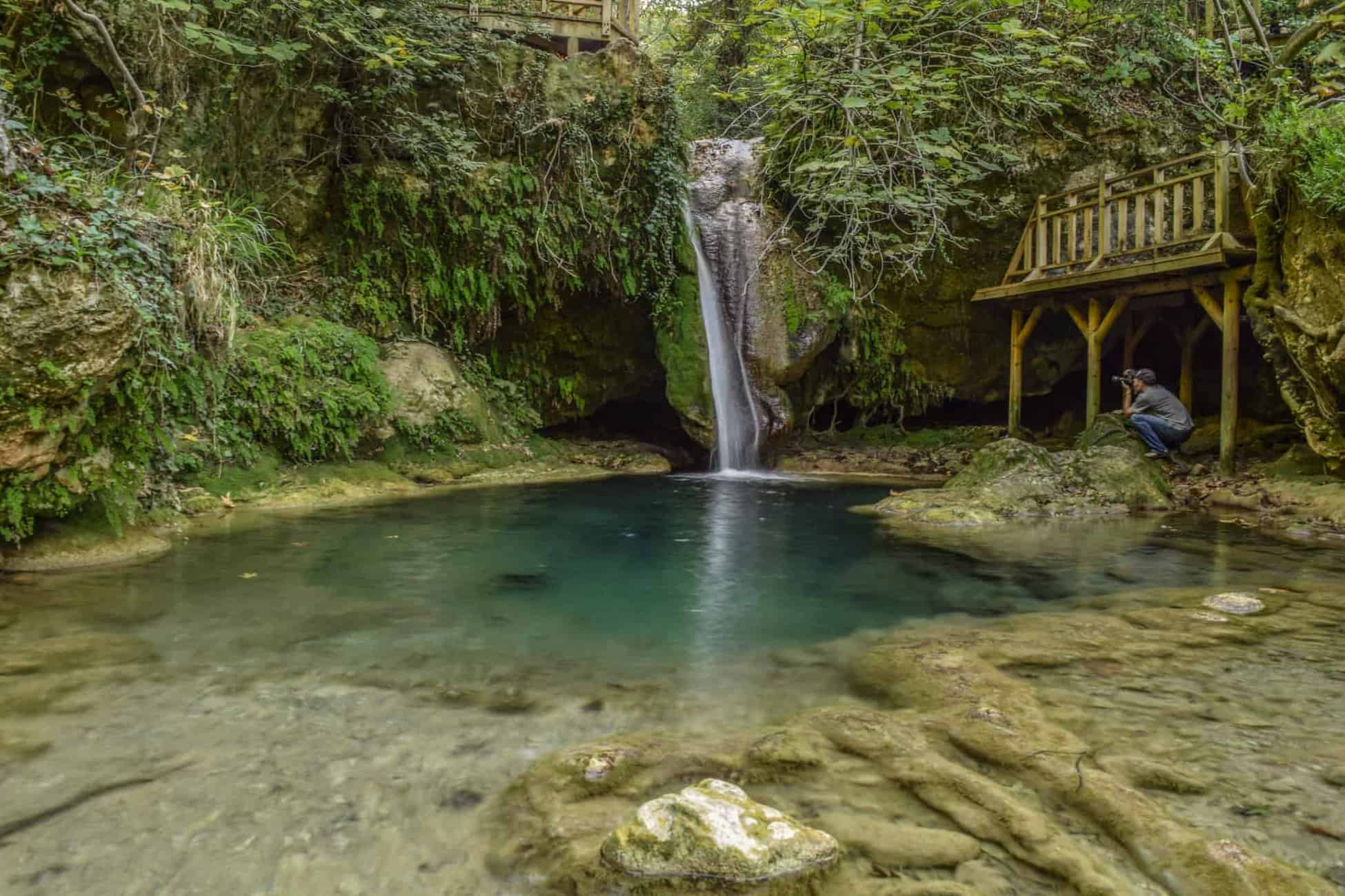 Visit Akyaka and see the Turgot Waterfall nearby