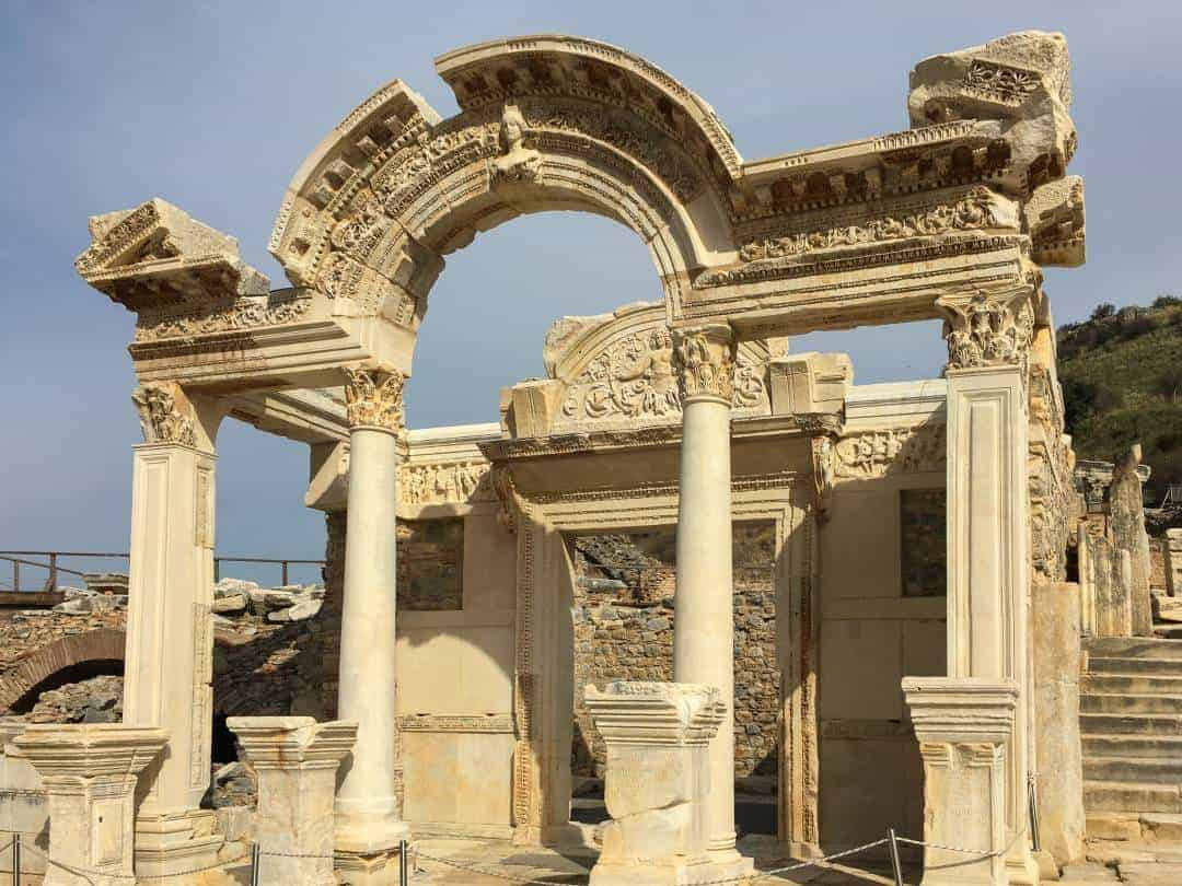 Ancient ruins of Ephesus