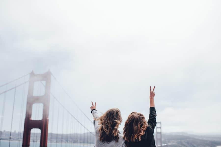 Golden Gate Bridge on USA road trip