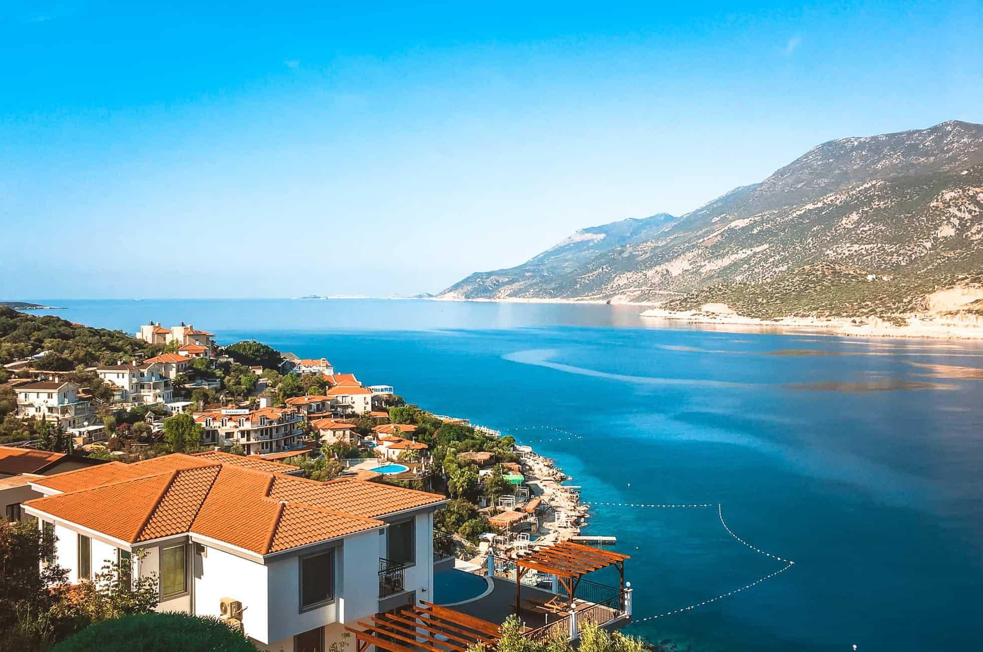Waterfront views in Kaş