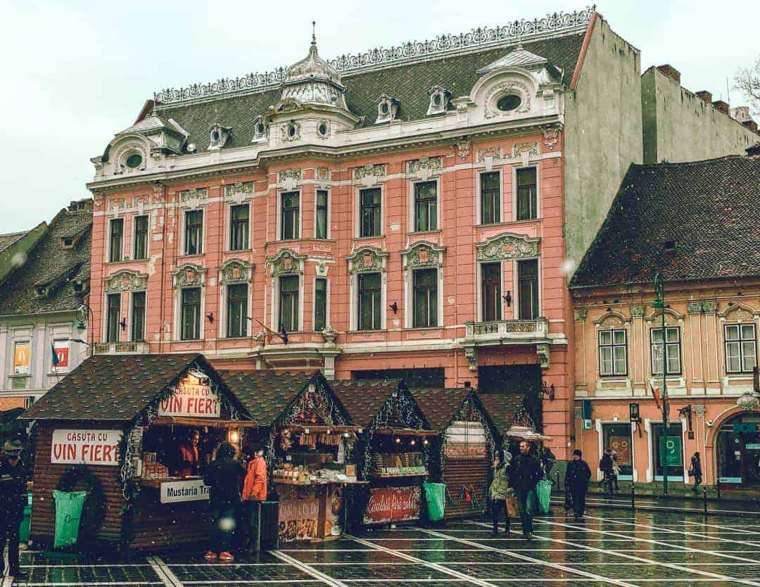 Visit Brasov around Christmas time for these beautiful markets