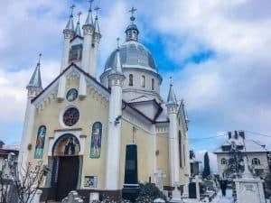 Church in Brasov Romania