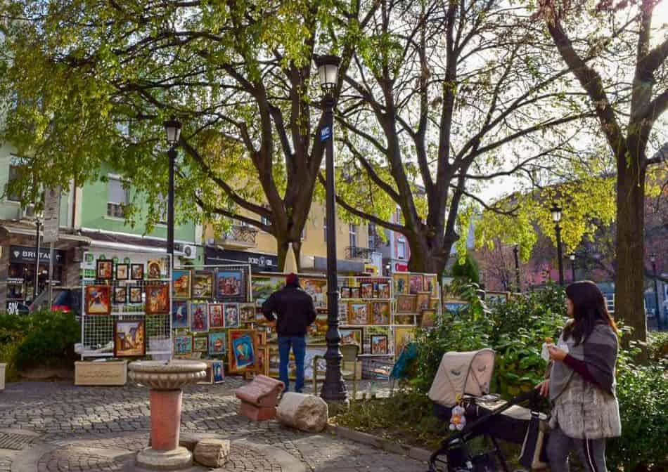 Outdoor galleries in Plovdiv