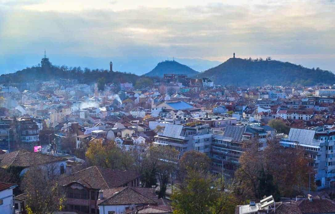 How many of the 7 hills can you climb in Plovdiv