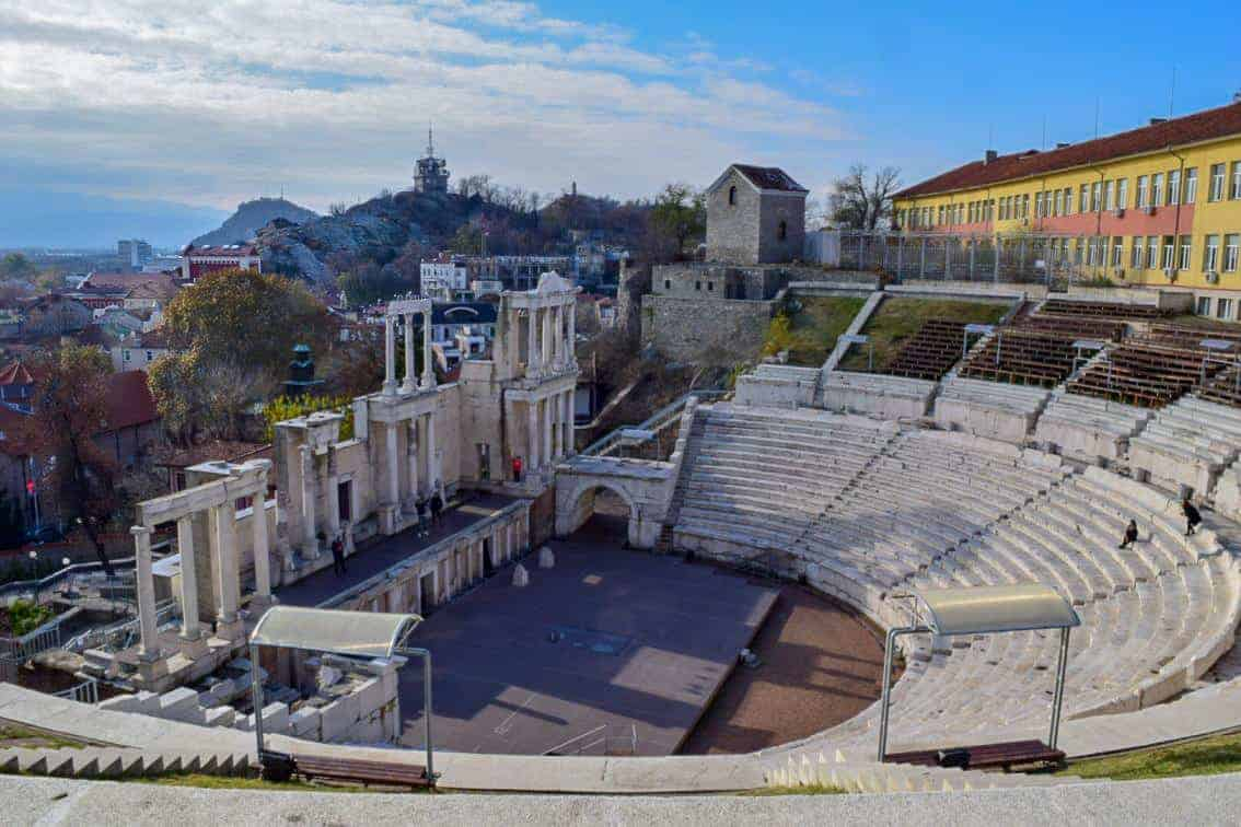 The Ancient Theatre of Plovdiv
