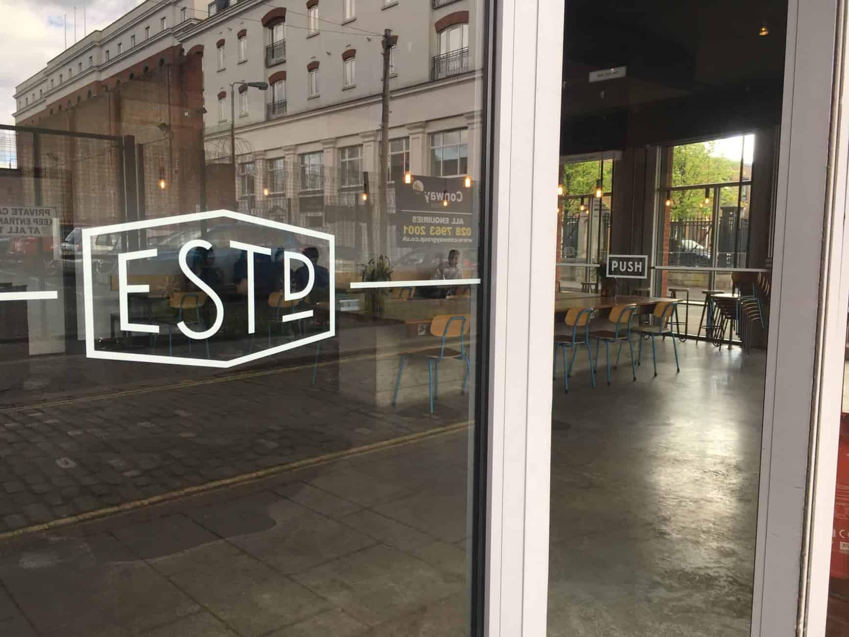 Established coffee shop Belfast