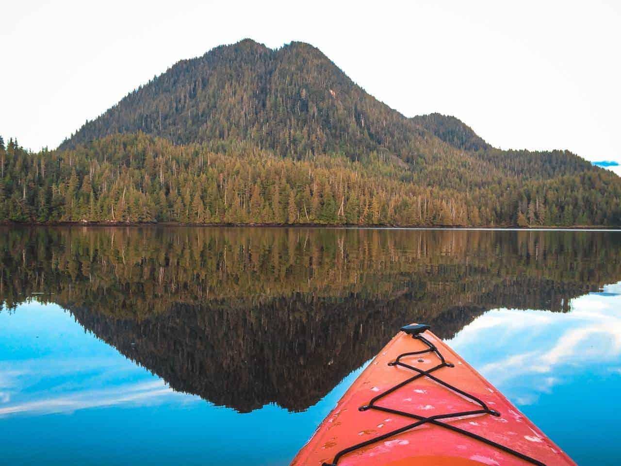 Kayaking in Prince Rupert Canada