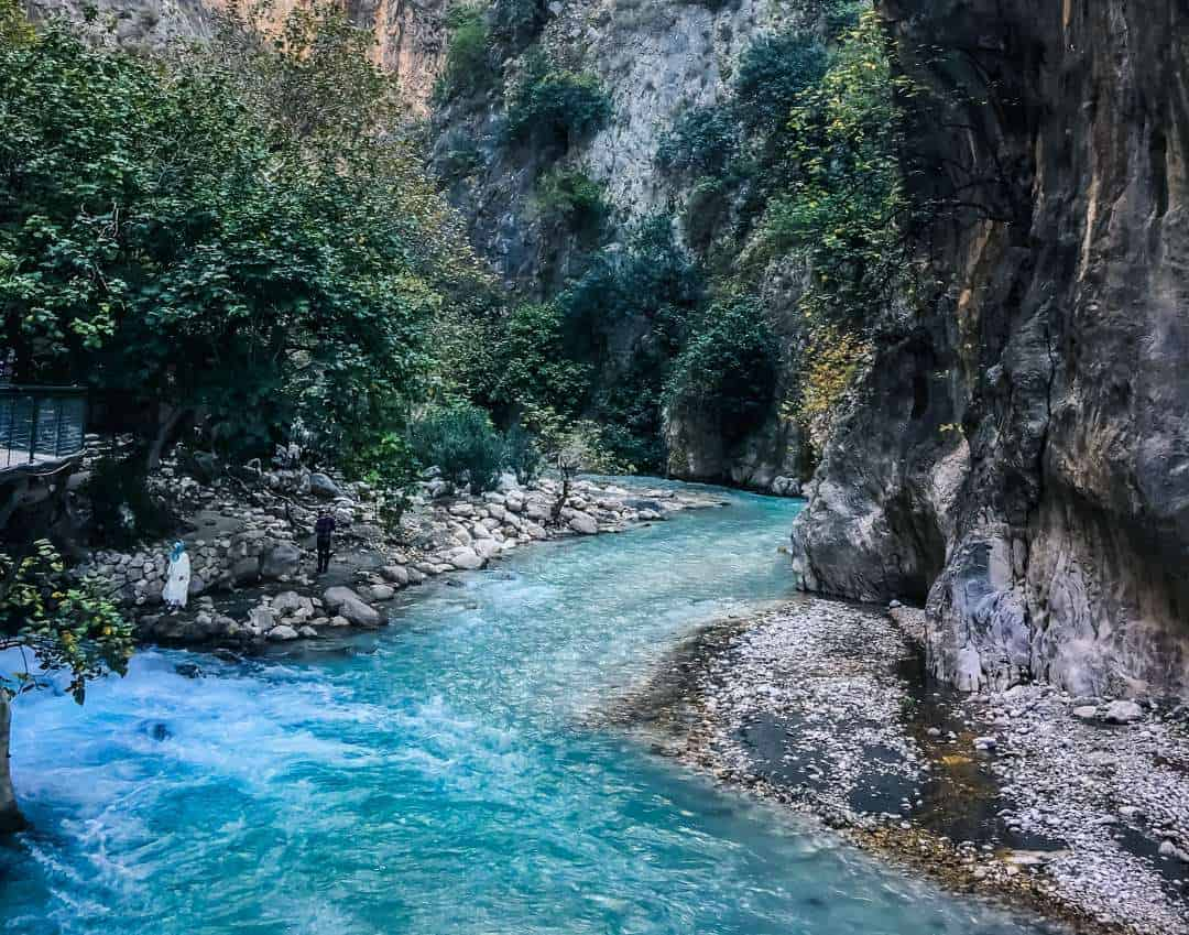 The entrance to Saklikent National Park Gorge