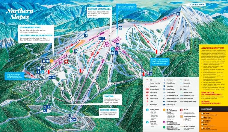 Mt Buller Trail Map