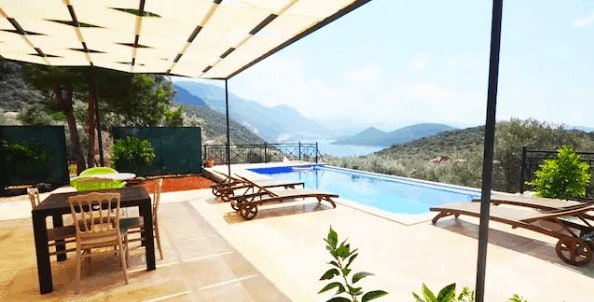 Where to stay in Kas - Airbnb villa