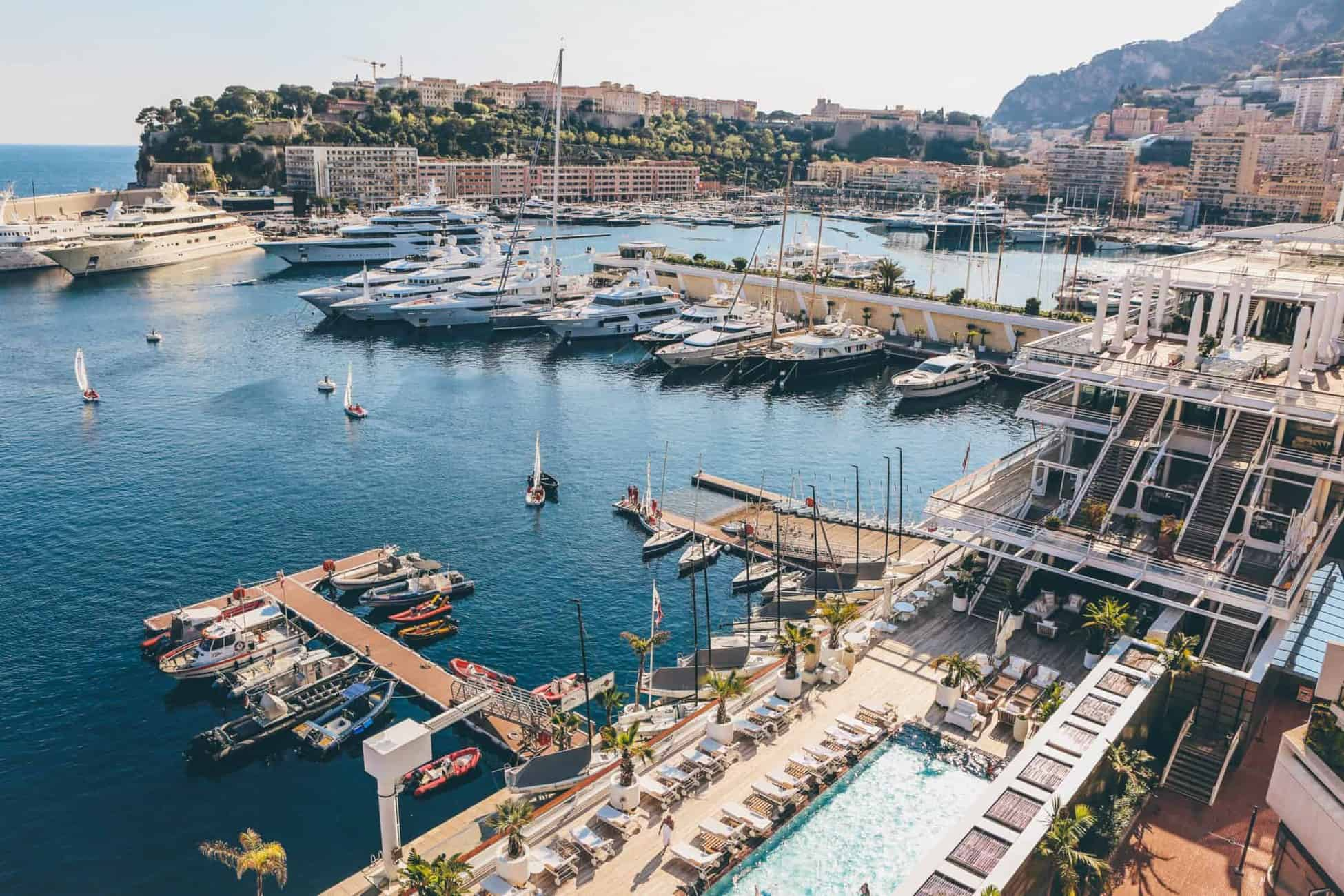 Monaco Marina is a yachting hub for getting a yacht job