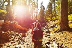 Hiking in Lake Tahoe California