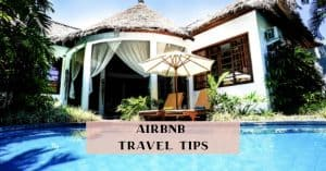Airbnb Travel Tips and promo code