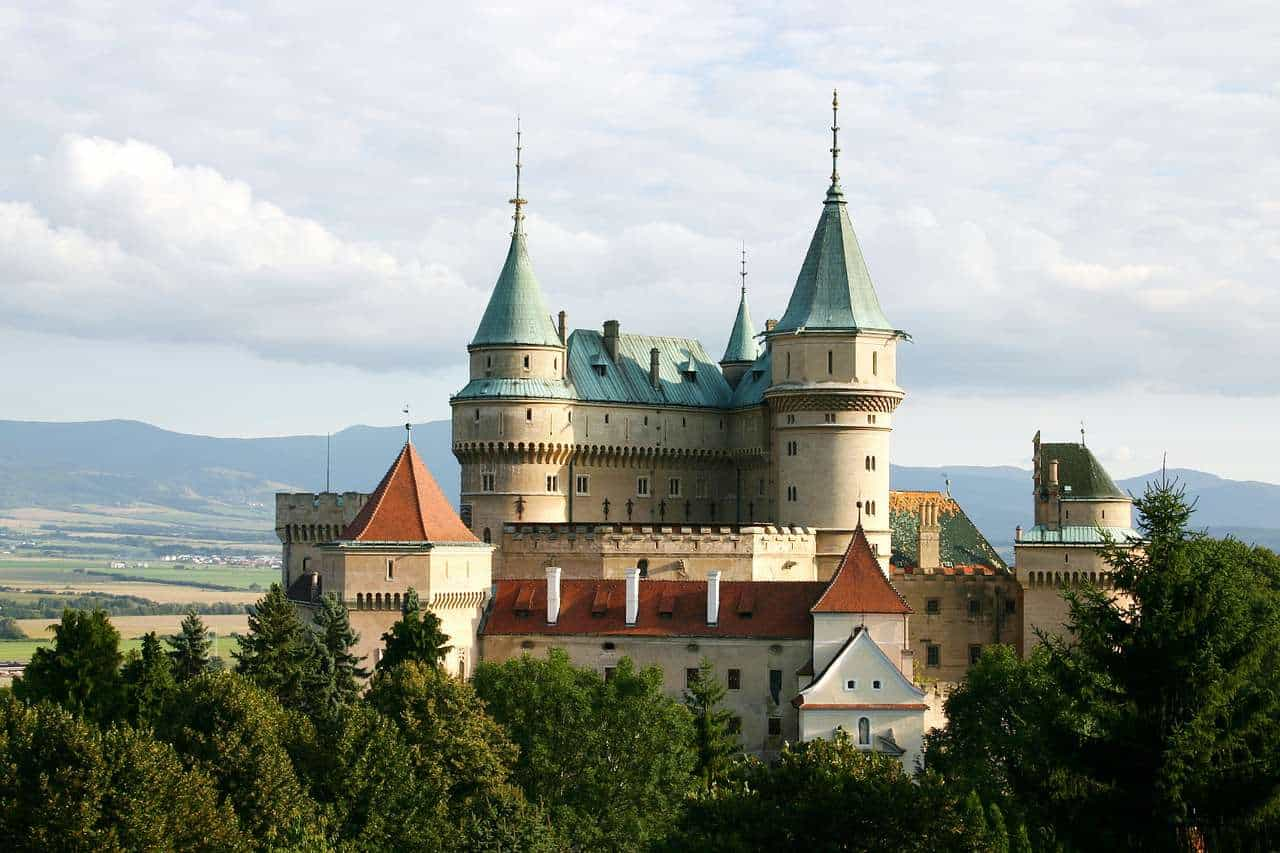Slovakia has many castles