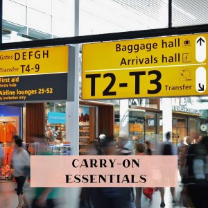 Carry on items
