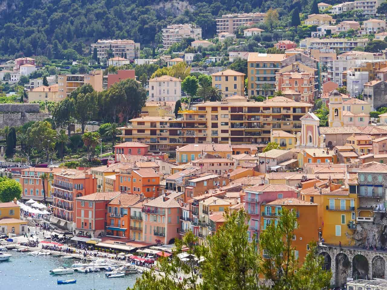 South of France seaside town