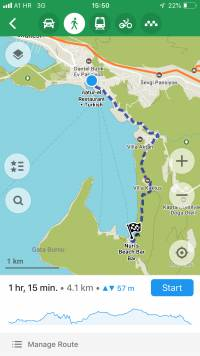 Top things to do in Kas are hiking the Lycian Way trail