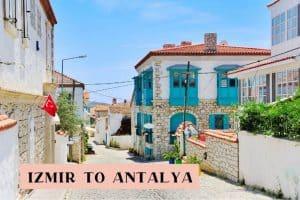 Izmir to Antalya road trip