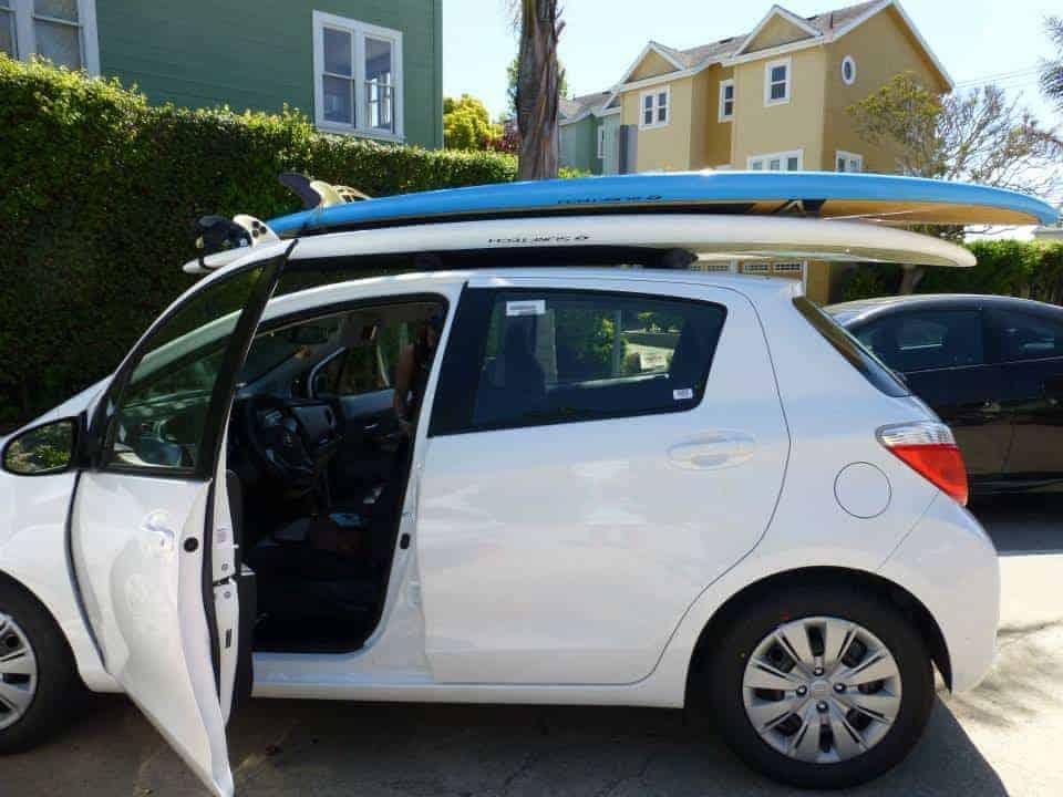 Road trip stop 2 Santa Cruz paddleboarding