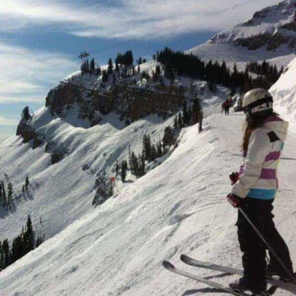 Ski trip to Jackson Hole in Wyoming