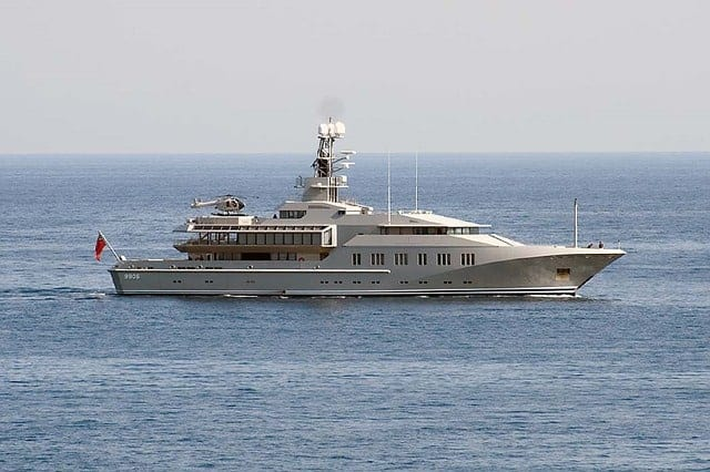 Picture yourself working on this yacht and getting paid to travel the world
