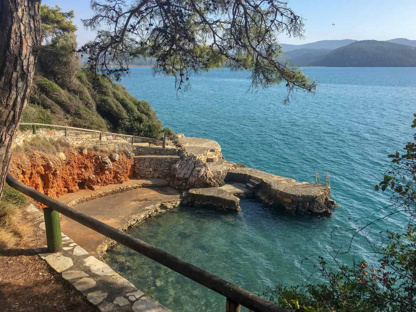 Beautiful views in Akyaka of private beach coves